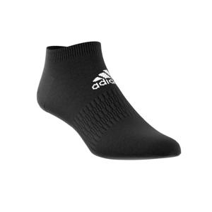 Blancheporte Černé kotníčkové ponožky, sada 3 párů černá/černá/černá 40/42