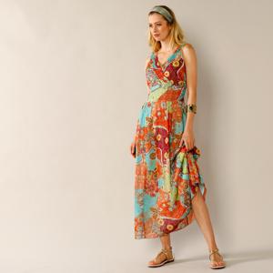 Blancheporte Dlouhé šaty s potiskem vícebarevná 38