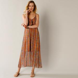 Blancheporte Dlouhé šaty s potiskem vícebarevná 40