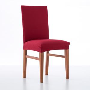 Blancheporte Jednobarevný bi-pružný potah na židli červená uni