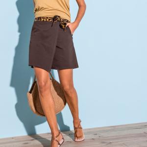 Blancheporte Kalhotová sukně čokoládová 38
