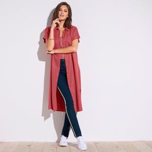 Blancheporte Košilové šaty cihlová 38