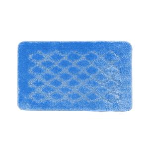 Blancheporte Koupelnová předložka s optickým efektem Diamant tmavě modrá 50x80cm