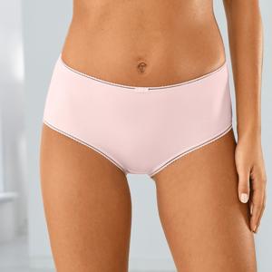 Blancheporte Maxi kalhotky z mikrovlákna, sada 4 ks šedá/růžová 46/48