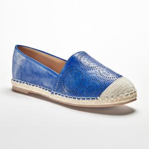 Blancheporte Modré ažurové espadrilky modrá 39