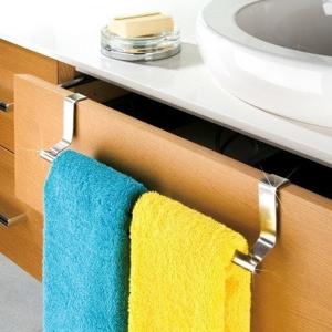 Blancheporte Nastavitelný držák na ručníky stříbřitá 36-60
