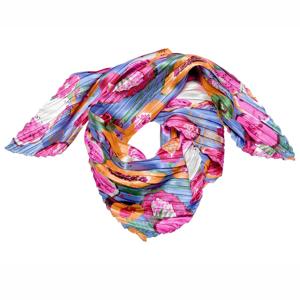 Blancheporte Plisovaný šátek s potiskem vícebarevná