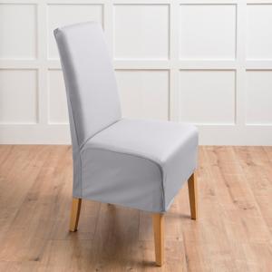 Blancheporte Potah na židli světle šedá samostatně