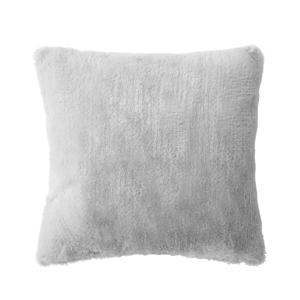 Blancheporte Povlak na polštář, efekt kožešiny šedá 40x40cm