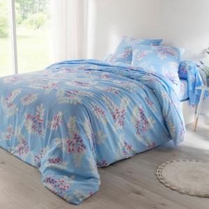 Blancheporte Povlečení Clara, bavlna modrá 70x90cm a 140x200cm(*)
