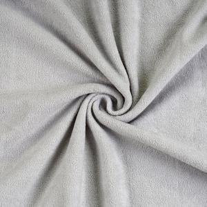 Blancheporte Prostěradlo froté šedá jednolůžko 90x200cm