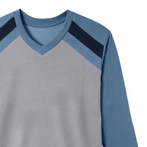 Blancheporte Pyžamo, sada 2 ks nám.modrá/modrá 78/86 (S)