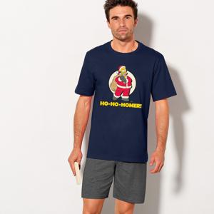"""Blancheporte Pyžamo """"Simpsonovi"""" s krátkými rukávy a šortkami Simpsonovi 87/96 (M)"""