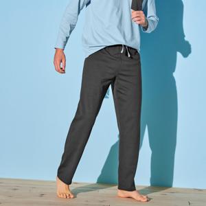 Blancheporte Pyžamové kalhoty, antracitové antracitová 48/50