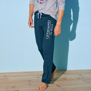 Blancheporte Pyžamové kalhoty, námořnicky modré nám.modrá 68/70