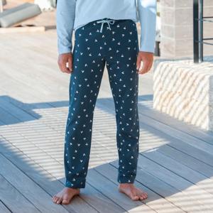 Blancheporte Pyžamové kalhoty, námořnický potisk nám.modrá/modrá 56/58