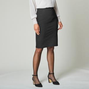 Blancheporte Rovná třpytivá sukně černá 52