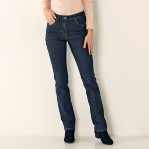 Blancheporte Rovné džíny, malá postava tmavě modrá 38