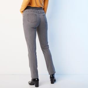 Blancheporte Rovné džíny s pružným pasem šedá 48