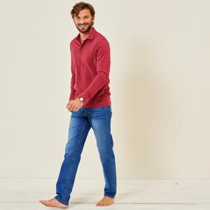 Blancheporte Rovné džíny v opraném vzhledu denim 56