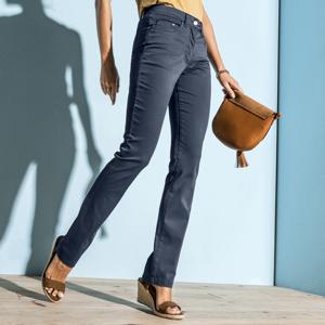 Blancheporte Rovné strečové kalhoty modrošedá 44