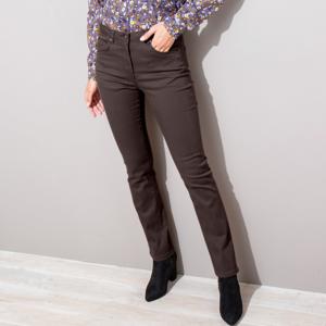 Blancheporte Tvarující kalhoty s 5 kapsami čokoládová 42