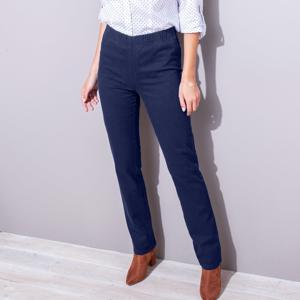 Blancheporte Tvarující kalhoty s efektem plochého bříška nám.modrá 38