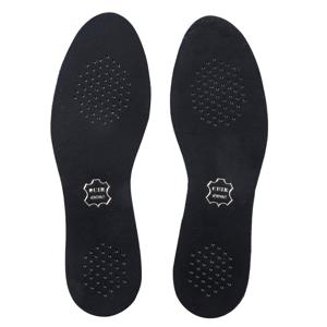 Blancheporte Vložky do bot, kůže a aktivní uhlí, 1 pár černá 36/37