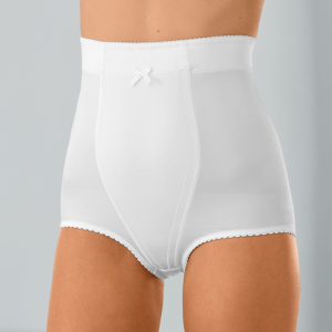 Blancheporte Vysoké stahující kalhotky bílá 38